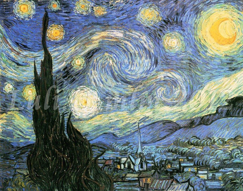 Vincent lettera a teo la radura nel bosco incantato for La notte stellata vincent van gogh