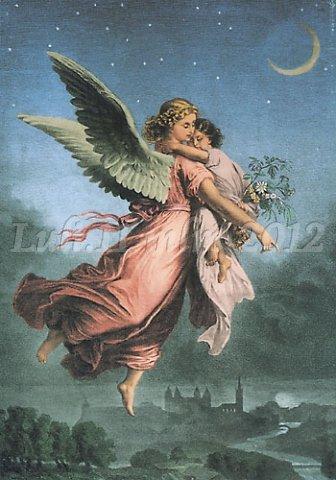 angelo e bimba