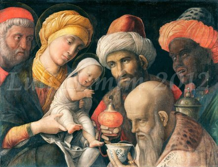 Adorazione dei Magi Andrea Mantegna - Luli.11 mlm 2012
