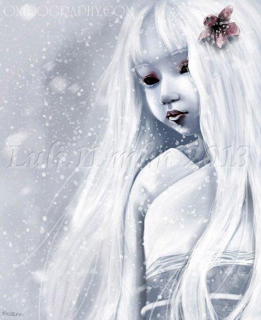 Le fate che crearono la neve - FIore di neve Rozenn Setsuka - Luli.11 mlm 2013