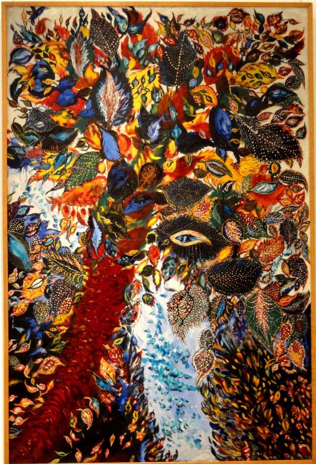 """Serahphine Louis """"Musée d'art et d'archéologie - L'arbre de Paradis (1928-30) - Luli.11 mlm 2013"""