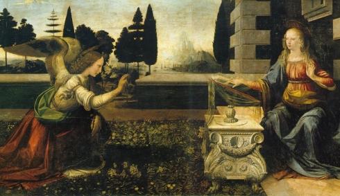 annunciazione-Leonardo-da-Vinci