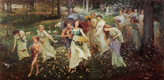 charles daniel ward the progress of spring-