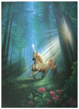 Unicorno nel Bosco