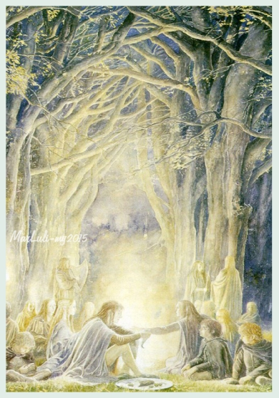 Alan Lee Elves